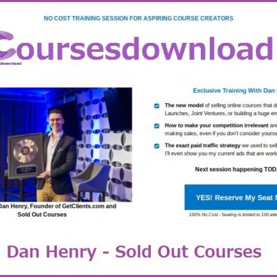 Dan Henry - Sold Out Courses