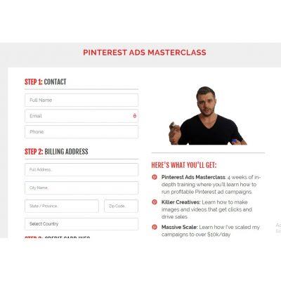 Mike Harri - Pinterest Ecom Masterclass