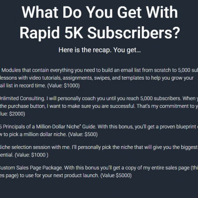 Verena Ho - Rapid 5K Subs